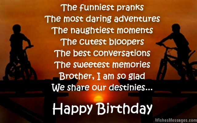 birthday greeting for brother messages ; Birthday-wish-for-brother