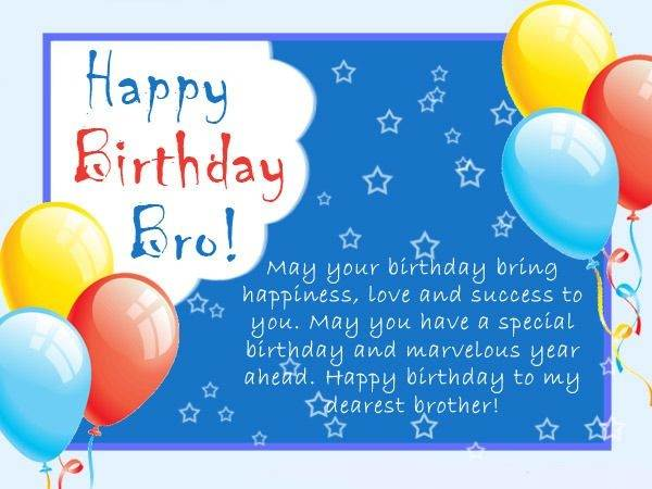 birthday greeting for brother messages ; Happy-birthday-wishes-brother4