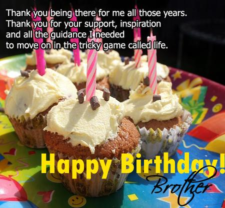 birthday greeting for brother messages ; birthday-brother-message