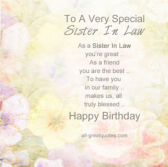 birthday greeting messages for sister in law ; 66ce9eec4bea32d1b319a102dafc4cfa