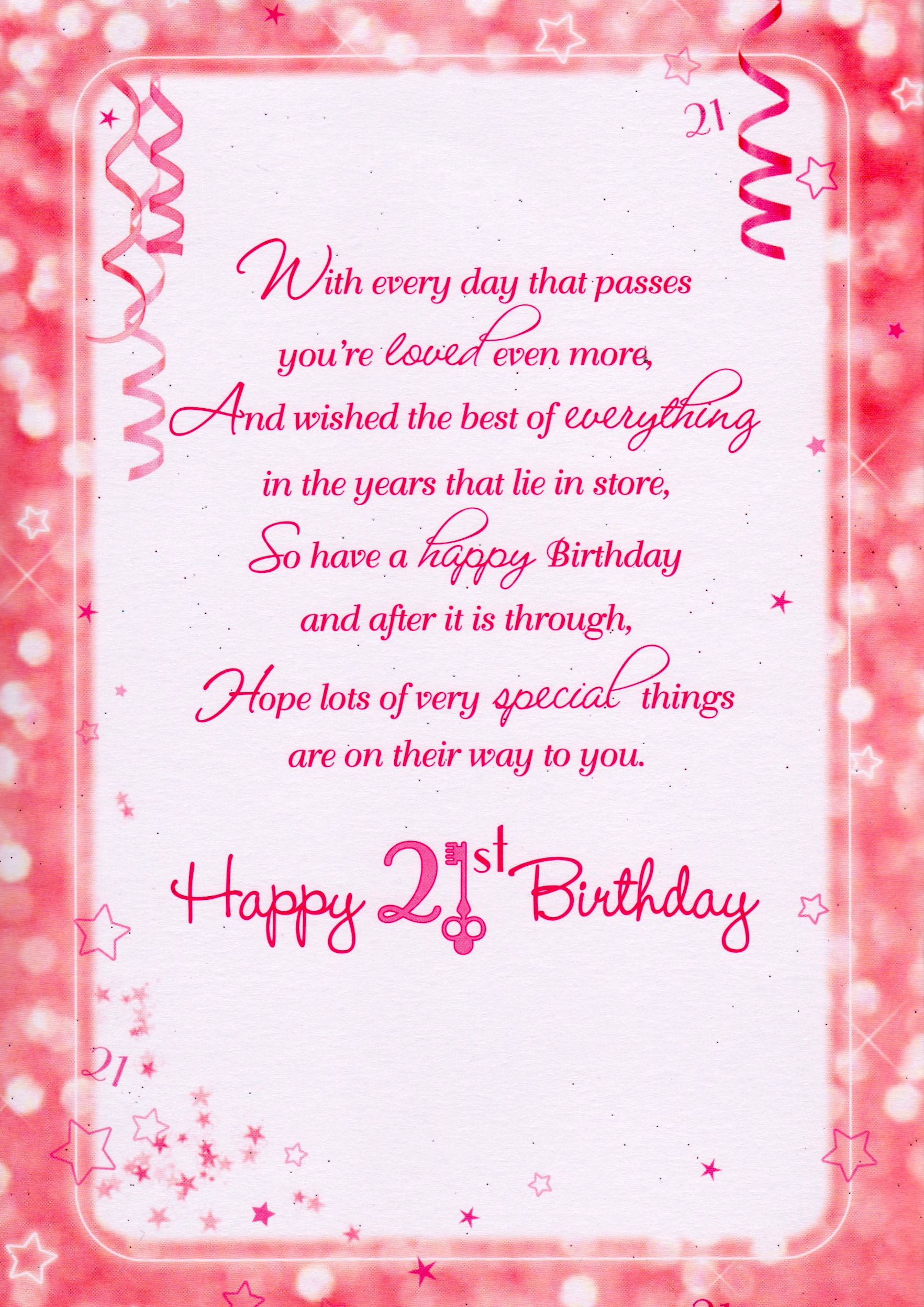 birthday greetings for friend with message ; 21st-birthday-wishes-and-messages-best-friend-1