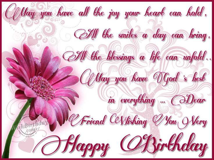 birthday greetings for friend with message ; aa8537cb8137c1bc8543f801df5875ef