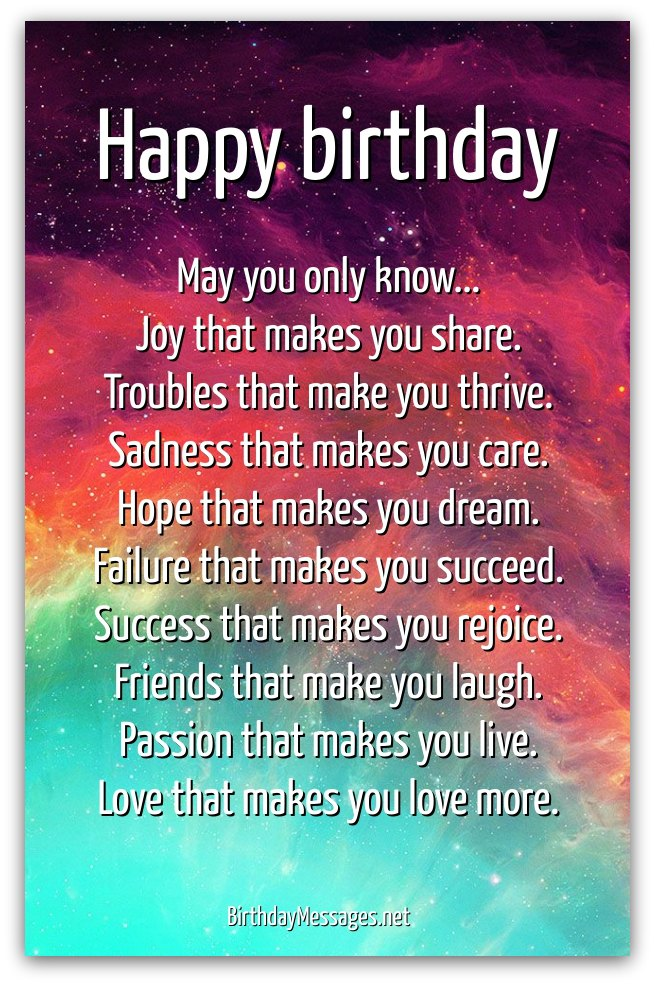 birthday greetings inspirational message ; 69e66604d4827475a6b43ee6b5005341