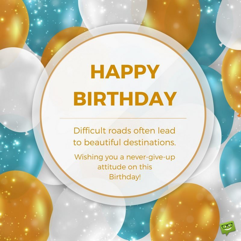 birthday greetings inspirational message ; Inspirational-Birthday-wishes-on-pic-with-balloons