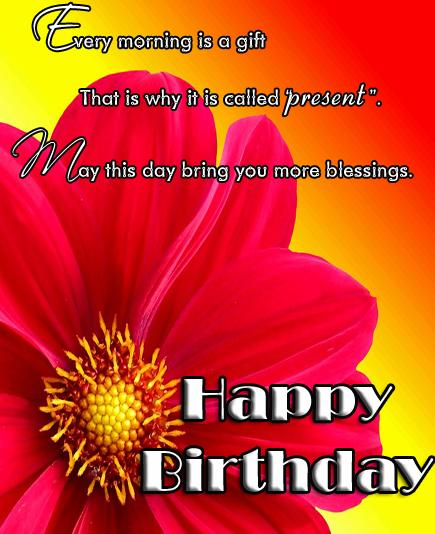 birthday greetings inspirational message ; b1e19497b4298962a7874a4f2c684e18