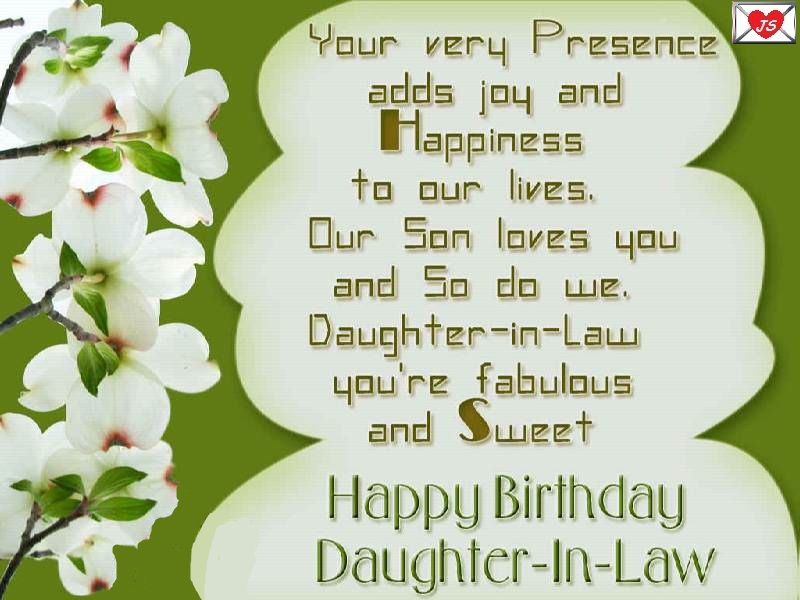 birthday greetings message for daughter in law ; 3d848616b01b7edaf8f2343795b8d0f2