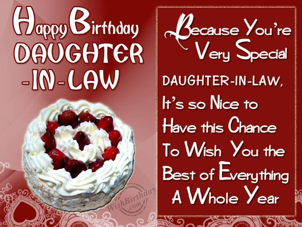 birthday greetings message for daughter in law ; Happy-Birthday-Daughter-In-Law-Because-Youre-Very-Special-Daughter-In-Law