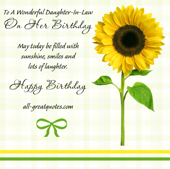 birthday greetings message for daughter in law ; eefe566affc6c50356b5b6c5ac417999