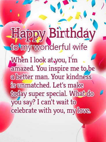 birthday greetings message for my wife ; Wondrous-Birthday-Wishes-With-Greeting-Message-For-My-Wife