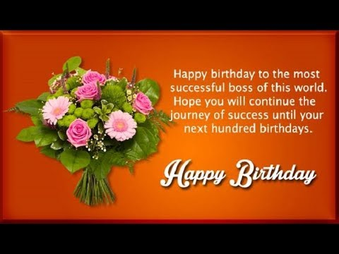 birthday greetings to boss message ; hqdefault