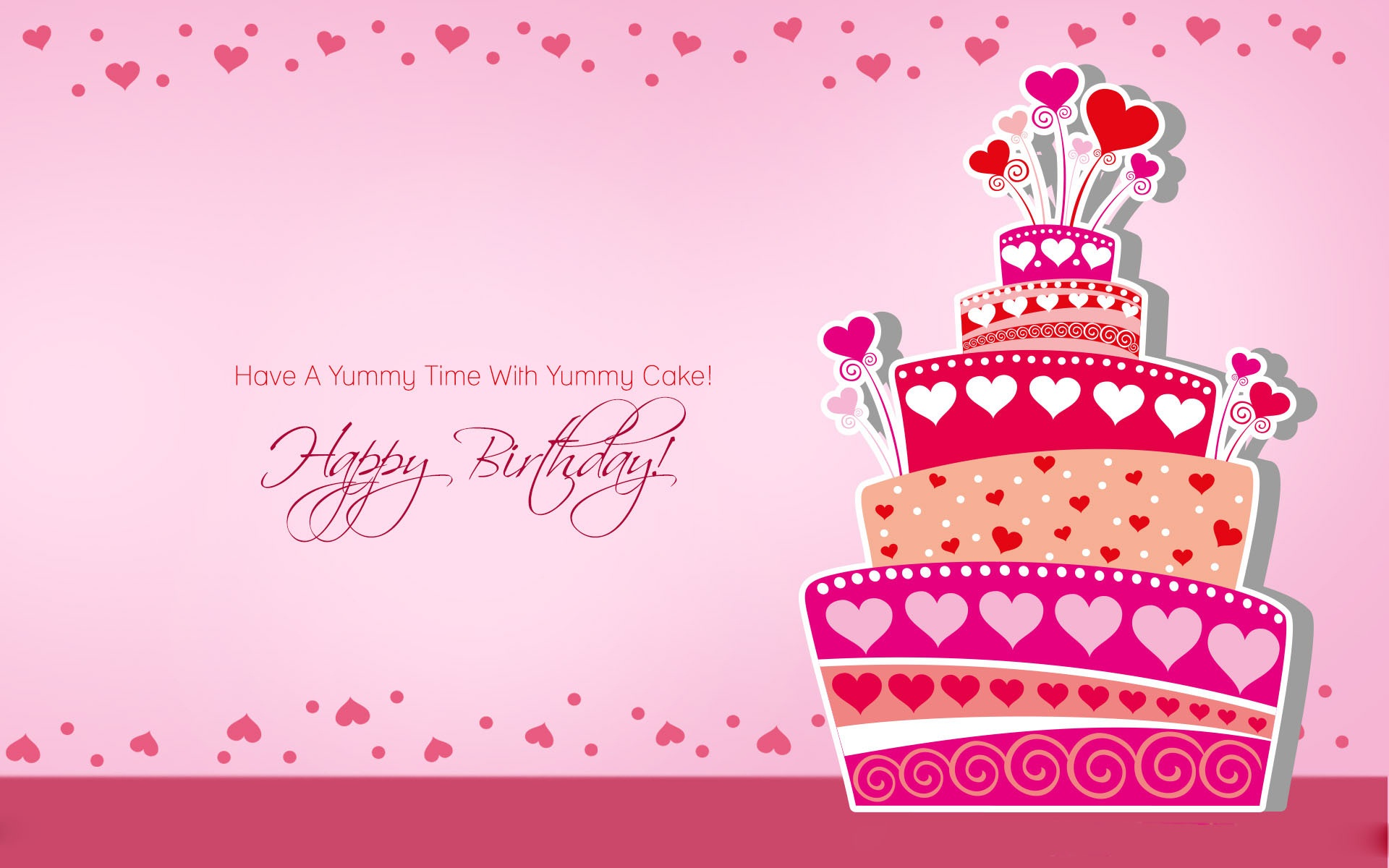 birthday hd images with quotes ; Happy-birthday-best-wishes-cake-and-quotes