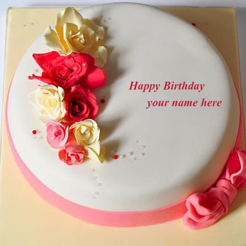 birthday images with name and photo editor ; rose-flowers-happy-birthday-cake-images-name-editor1474725261