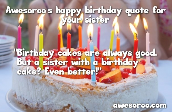 birthday images with quotes ; birthday-cake-for-sister