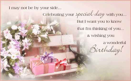 birthday images with quotes free download ; i-may-not-be-by-your-side