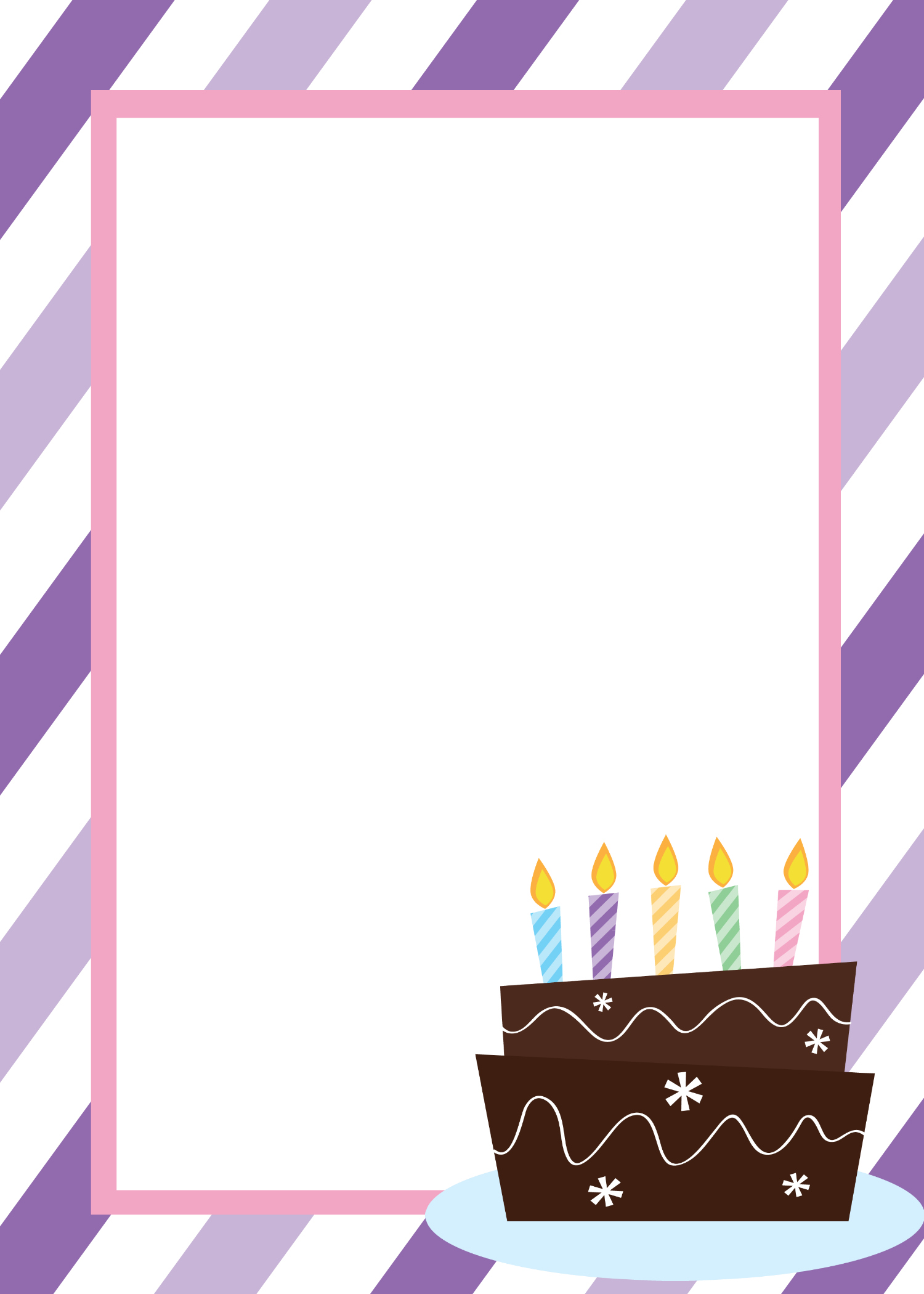birthday invitation card design blank ; Blank-Birthday-Invitation-Templates-and-get-inspired-to-create-your-own-birthday-Invitation-design-with-this-ideas-1