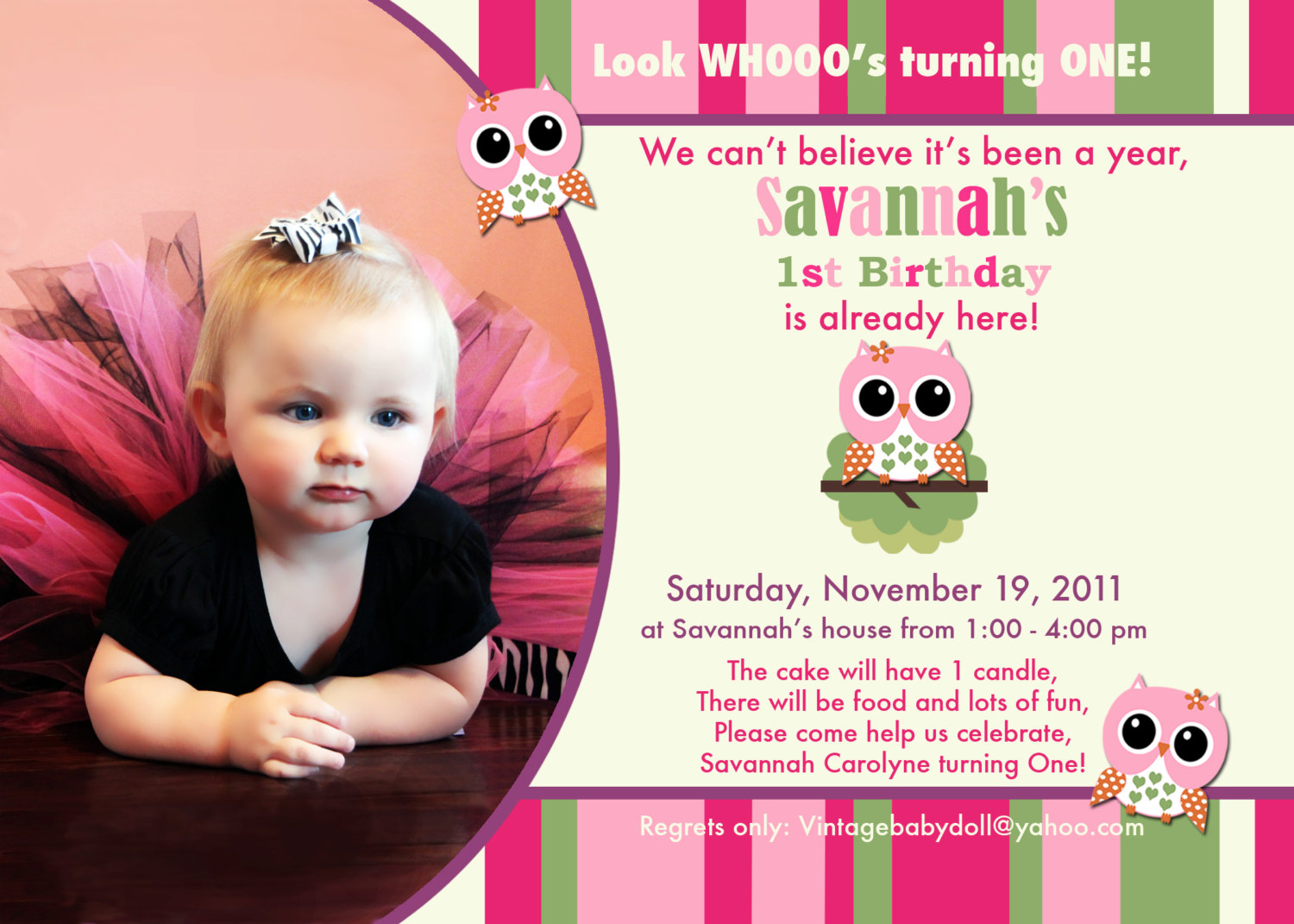 birthday invitation card design for girls ; baby_birthday_invitation_mesmerizing_baby_birthday_invitation_95_5