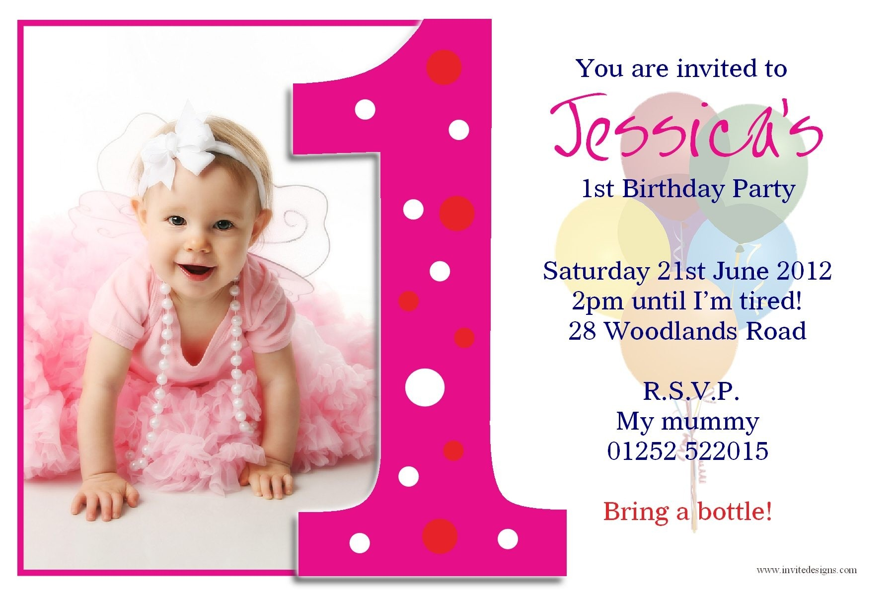 birthday invitation card template ; invitation-cards-of-first-birthday-best-of-1st-birthday-invitation-card-template-yspages-com