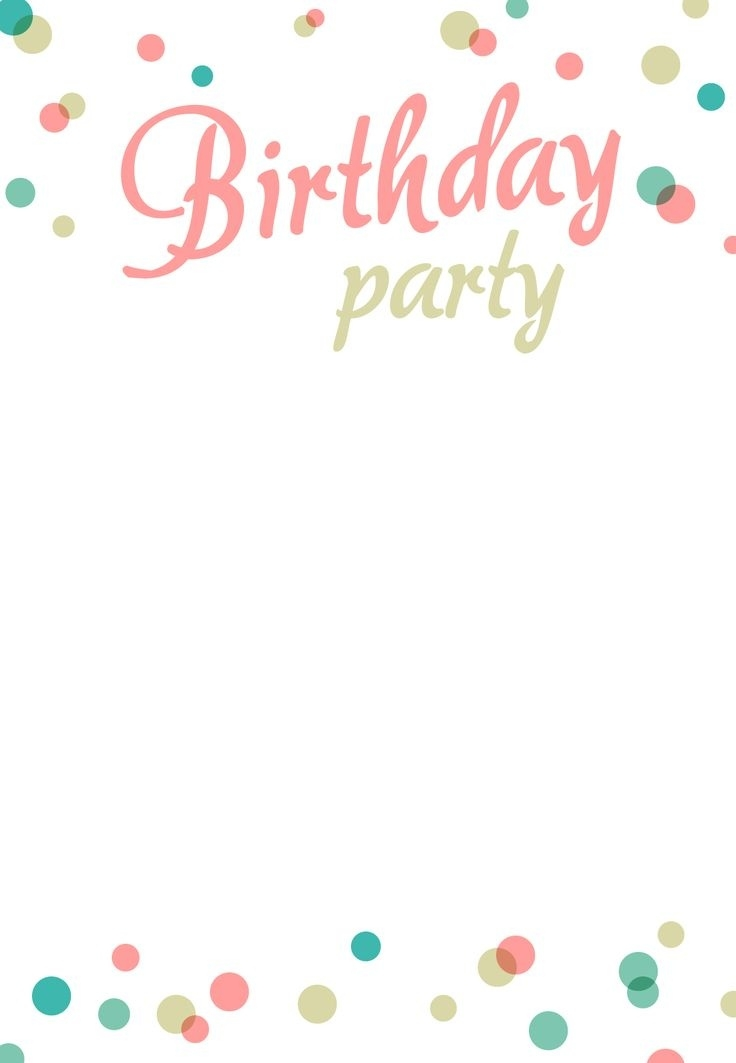 birthday invitation card template with photo ; best-25-birthday-invitation-templates-ideas-on-pinterest-free-throughout-birthday-invitation-card-template