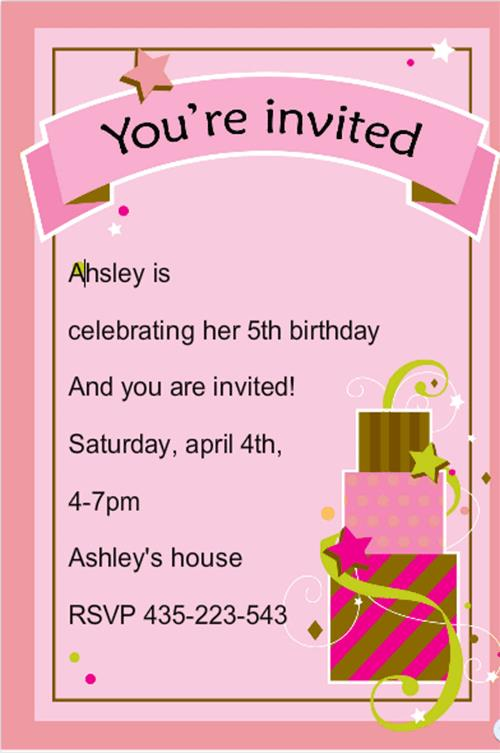 birthday invitation card template with photo ; birthday-card-invites-templates-free-birthday-card-invitation-templates-birthday-card-invitation