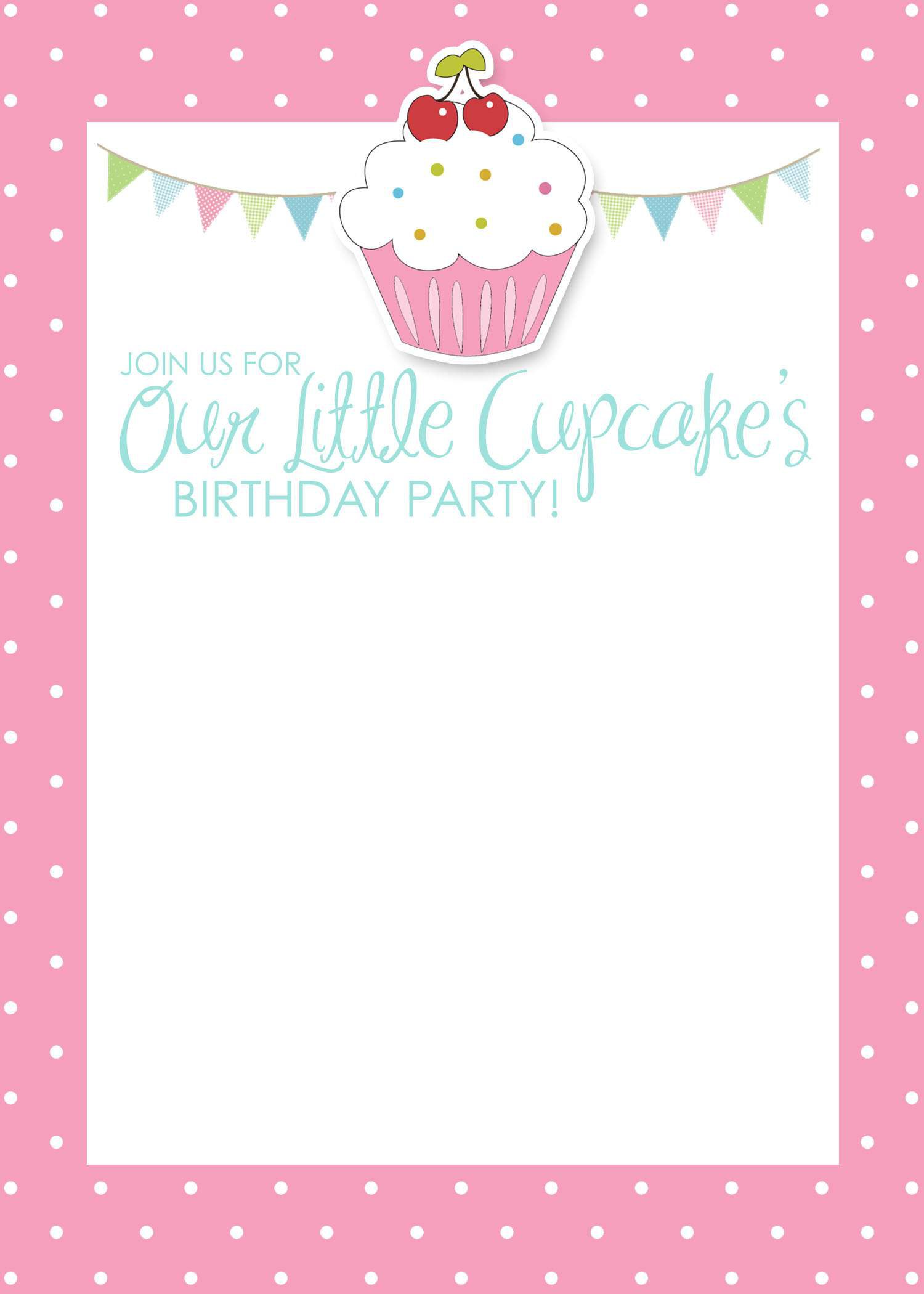 birthday invitation card template with photo ; birthday-invitation-card-template-free