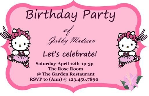 birthday invitation card template with photo ; birthday-invitation-cards-templates-50-free-birthday-invitation-throughout-birthday-invitation-card-template