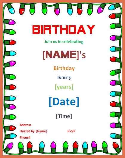 birthday invitation card template word ; party-invitation-template-word-birthday-invitation-card