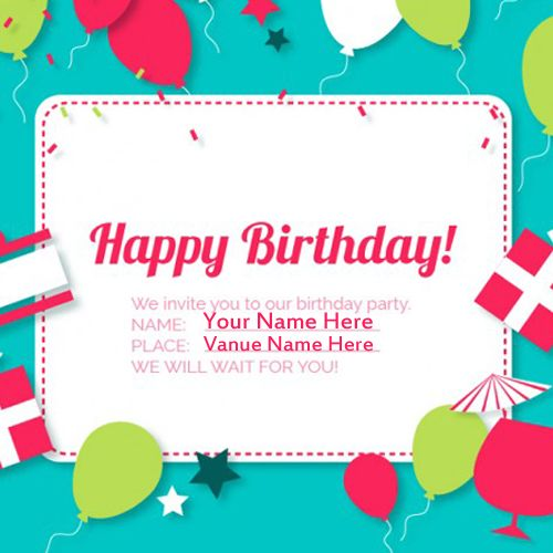 birthday invitation card with name and photo ; f7fbd49272423b5ff2d5a9b3f4c3308d