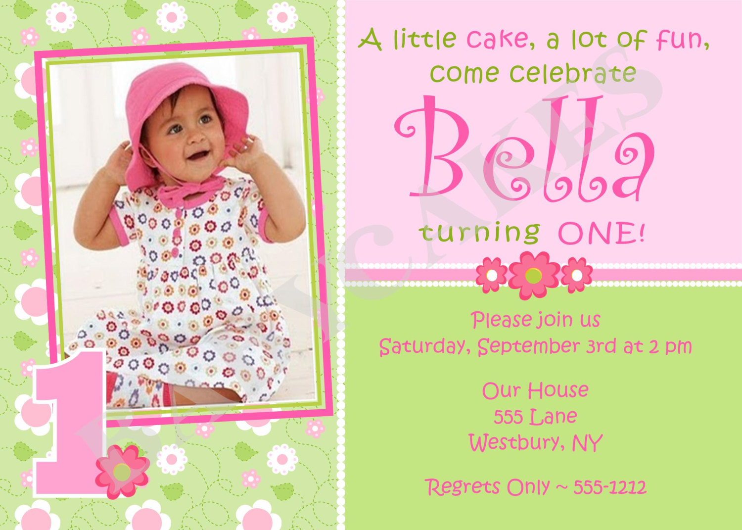birthday invitation card with photo ; birthday-invitation-card-for-a-artistic-Birthday-invitation-design-with-artistic-layout-1