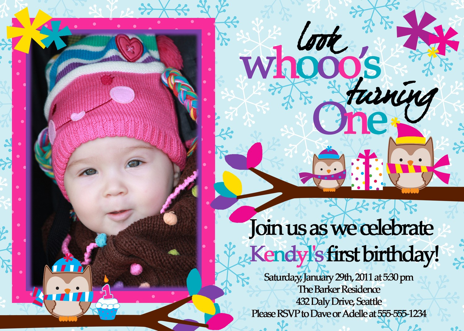 birthday invitation card with photo ; invitation-cards-for-1st-birthday-for-your-inspiration-to-create-invitations-design-look-more-outstanding-2