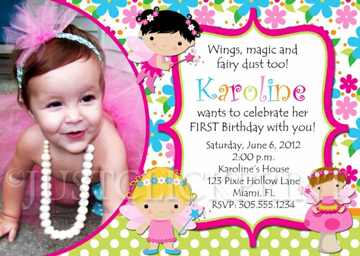 birthday invitation card with photo ; samples-of-birthday-invitations-24-best-birthday-invitation-card-sample-images-on-pinterest