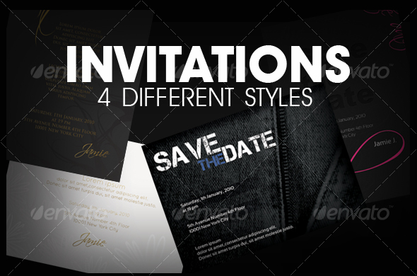 birthday invitation photoshop template ; 354720
