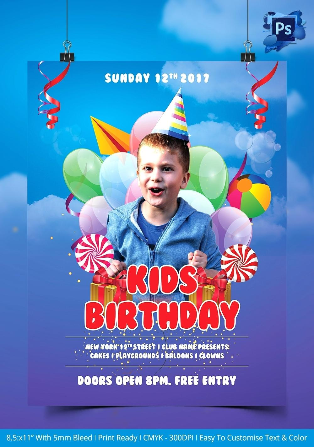 birthday invitation photoshop template ; birthday-invitation-photoshop-template-flyer-free-vector-for-with-download-card