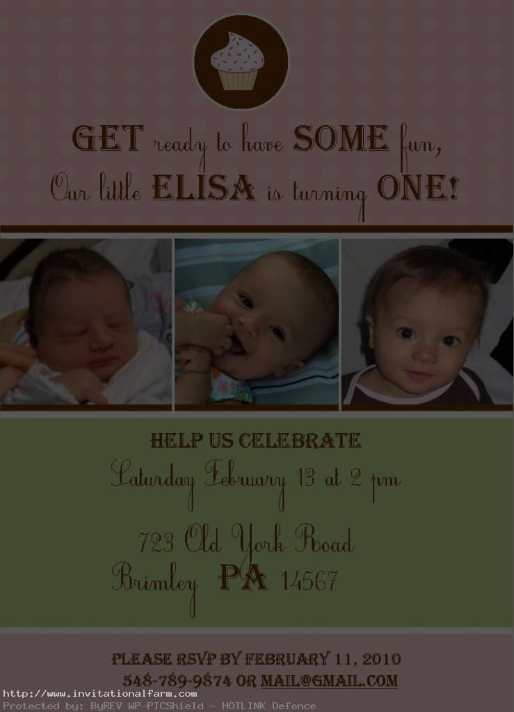 birthday invitation quotes for 1st birthday ; First-birthday-invitations-quotes