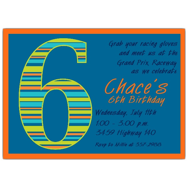 birthday invitation quotes for 6th birthday ; 6Th-Birthday-Invitation-Wording-is-one-of-the-best-idea-to-create-your-Birthday-invitation-with-winsome-design-2