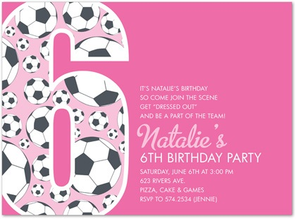 Birthday Invitation Quotes For 6th 6Th Wording Which