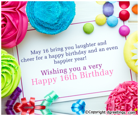 birthday invitation quotes for friends ; Your-16th-Birthday