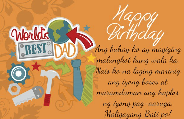 birthday message best friend tagalog ; Birthday-Wishes-for-Dad-Tagalog