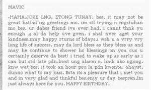 birthday message for a best friend tagalog ; 1cy_your_birthday_messag