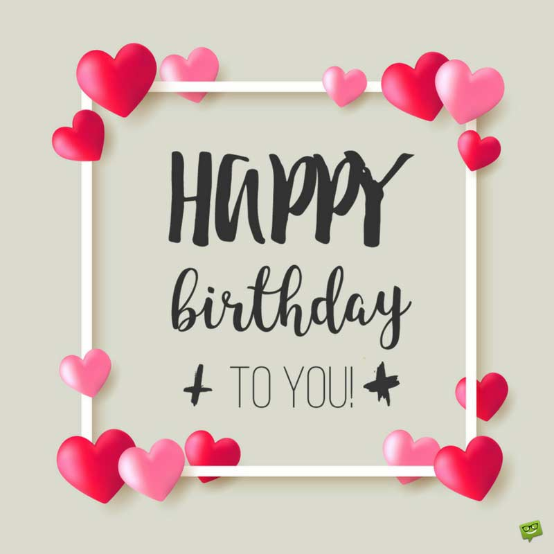 birthday message for a best friend tagalog ; birthday-wish-on-frame-with-hearts