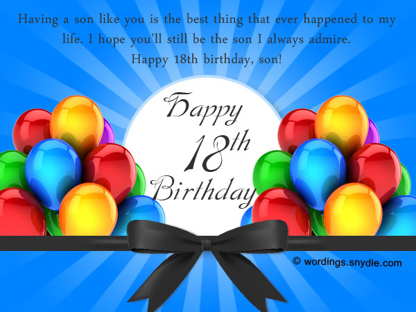 birthday message for a debutant friend tagalog ; 18th-birthday-wishes-1