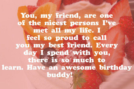 birthday message for a friend images ; best-friend-birthday-wishes