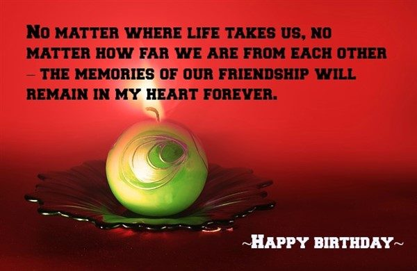 birthday message for a friend images ; birthday-message-for-friend-600x390