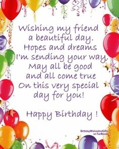 birthday message for a special friend tagalog ; 7eafddf5d374041dd98dbb57f7cb57bf--happy-birthday-greetings-special-birthday-wishes