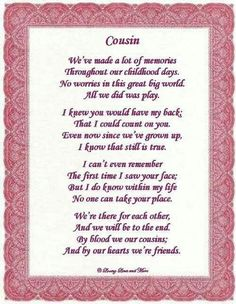 birthday message for cousin female tagalog ; 9742c53fbb168d519876f9c73722db57--cousin-love-quotes-cousin-birthday-quotes