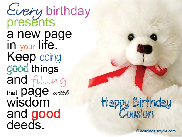 birthday message for cousin female tagalog ; birthday-messages-for-cousin