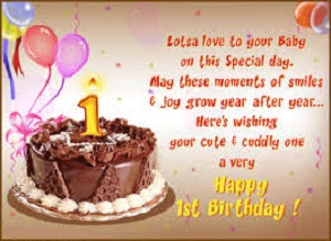 birthday message for cousin girl tagalog ; Happy-1st-birthday-wishes
