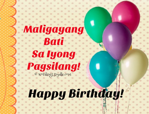 birthday message for cousin girl tagalog ; tagalog-birthday-messages-card