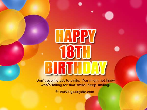 birthday message for debutant tagalog ; happy-18th-birthday-wishes