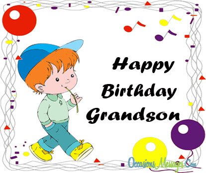 birthday message for grandson with images ; 05