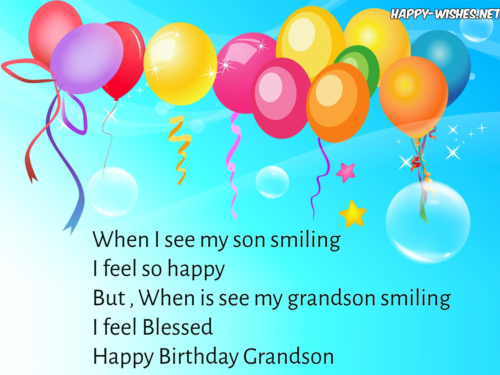 birthday message for grandson with images ; 4HappyBirthdaywishesforgrandson-compressed